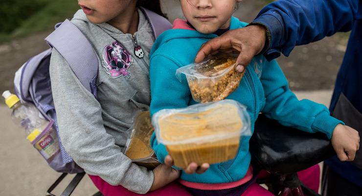 Félnek bevallani, hogy éhezik a gyerekük