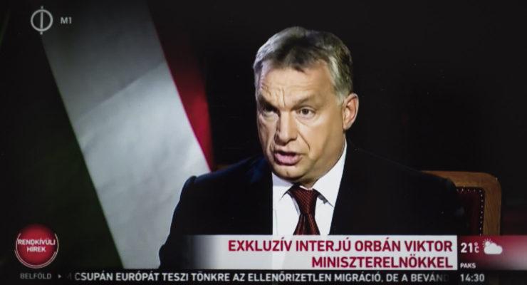Orbán Viktor mindenkit lenyom a tévében