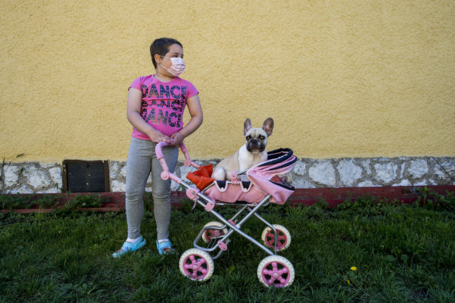Testvére születése mentette meg a leukémiás kislány életét | Fotó: Hajdú D. András