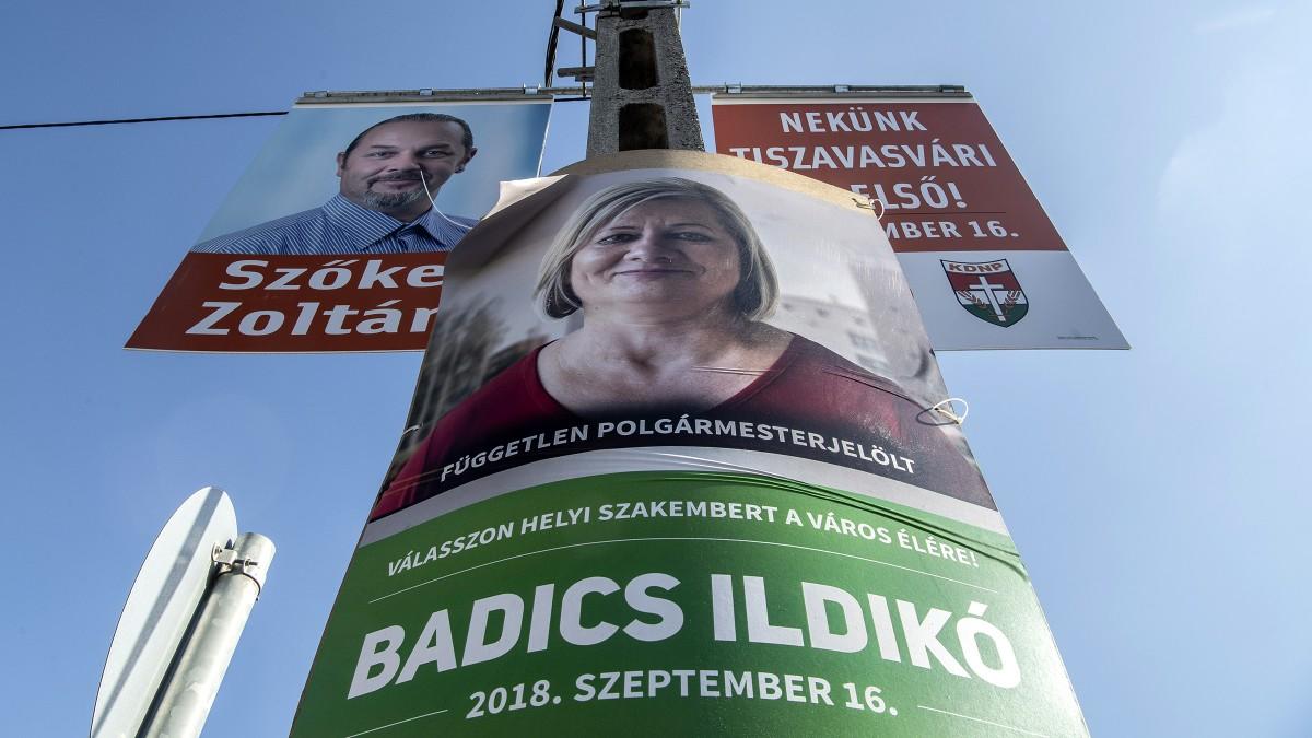Új Kisvárdát akarnak Tiszavasváriból, akik a fideszes jelöltet éltetik