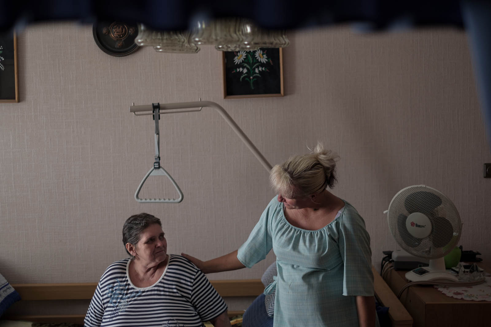 Home care for ill and elderly people